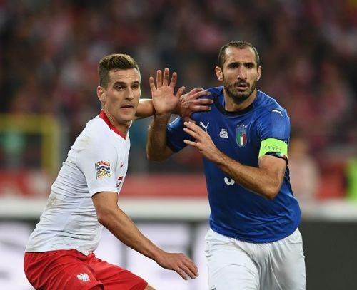 Chiellini and Bonucci kept Lewandowski and Milik quiet
