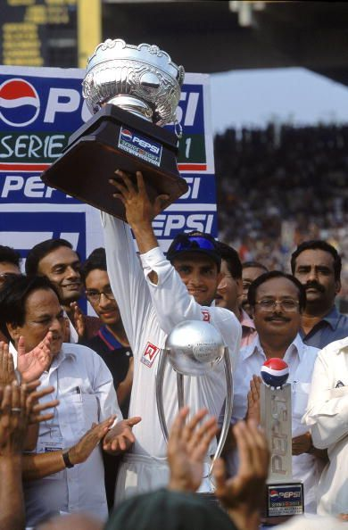 2001 Border-Gavaskar test series win is considered one of the biggest triumphs in Indian cricket