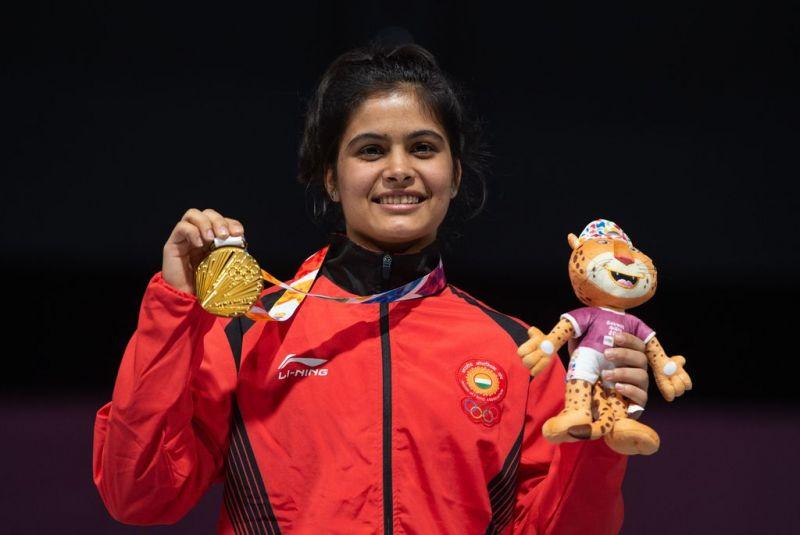 2018 Youth Olympic Gold medalist Manu Bhaker from India (Image Courtesy: IOC)