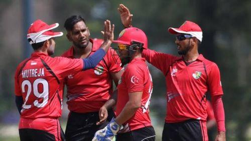 Singapore Cricket Team: ICC World T20 Qualifier Asia