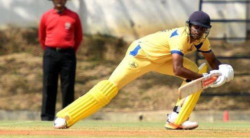 Vijay Shankar led TN in the Vijay Hazare tournament