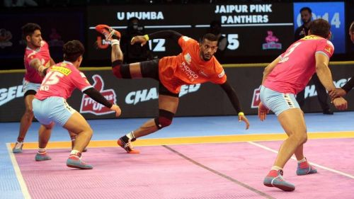 Siddharth Desai was again the star for U Mumba against the Panthers.