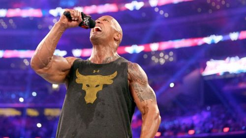 The Rock is one of the best ever promo workers in WWE history.