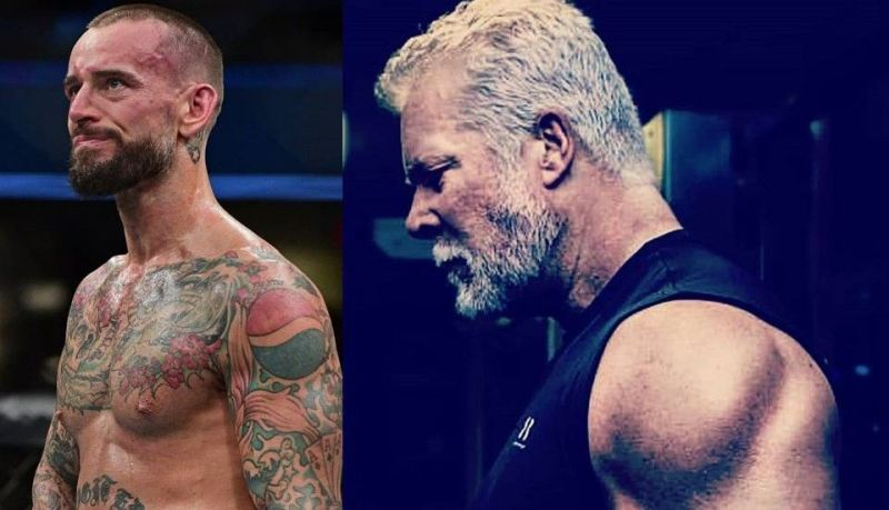 CM Punk (left) and Kevin Nash (right) have legitimate real-life heat with one another