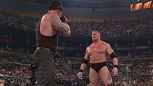 Brock Lesnar won The Rumble back in 2003