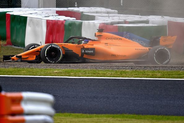 McLaren think tanks forgot to choose its tyre compounds for