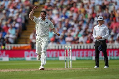 Umesh Yadav played just one Test in England