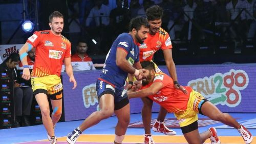 Can Monu Goyat inspire his team to victory against Puneri Paltan?