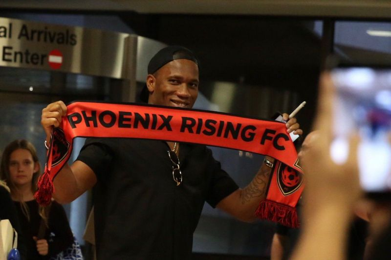 Drogba is the player-owner of Phoenix Rising