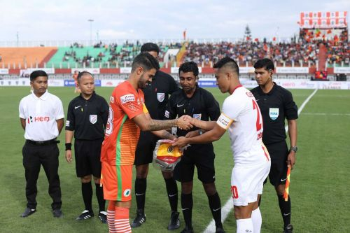 East Bengal got the perfect start of their I-League campaign with a 2-0 win over Neroca FC
