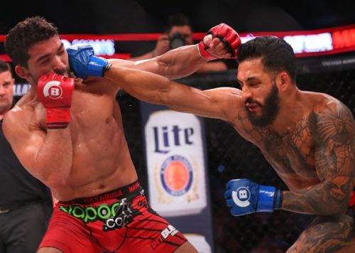 Henry Corrales (right) has been on a run and showed what he can do in the first fight of the main card