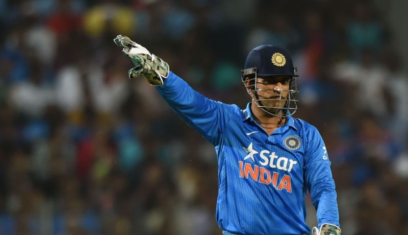 Image result for ms dhoni on field