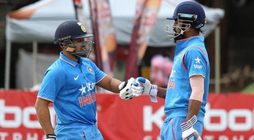 Rahul and Nair opened for India in their debut match