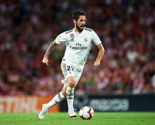 Injuries to players like Isco hasn't helped Madrid's cause