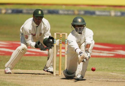 South Africa v Zimbabwe - First Test, Day Two