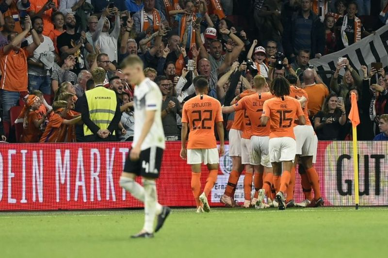 Netherlands record their biggest ever victory over Germany