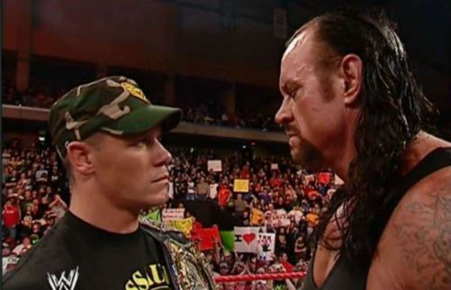 The Undertaker refused to challenge John Cena after winning Royal Rumble 2007.