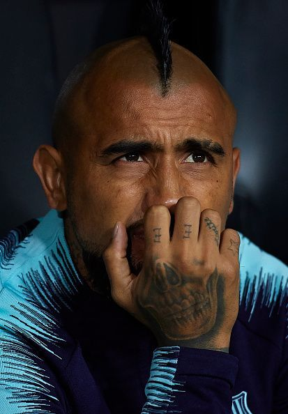 Vidal has grown unhappy with his diminished role at Barcelona