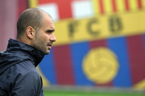 Pep Guardiola- Former Manager of FC Barcelona (2008-2012)