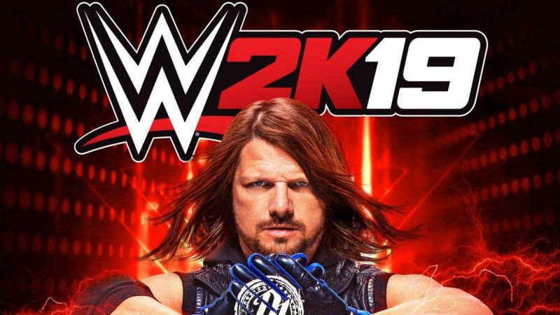AJ Styles is the cover star of WWE 2K19