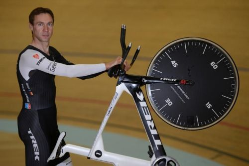 Jens Voigt after smashing the World Hour record