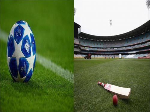 Football and cricket