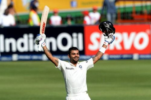 South Africa v India - Test Match Series - Day One