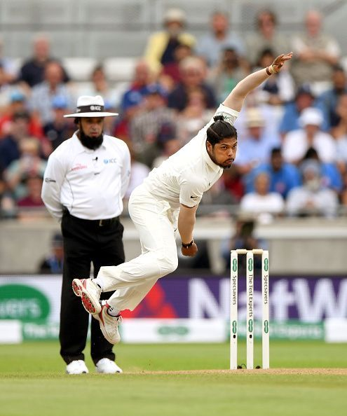 Yadav led the Indian pace attack in absence of Jasprit Bumrah and Bhuvneshwar Kumar