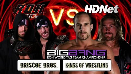 These were two of the best teams in ROH at the time