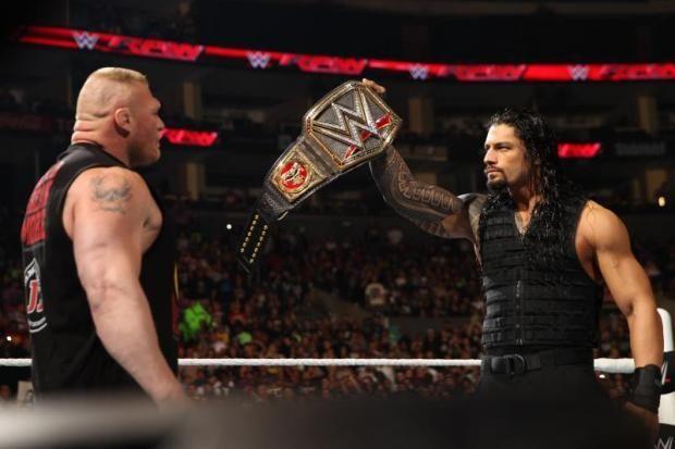Roman Reigns would vanquish Brock Lesnar at Crown Jewel