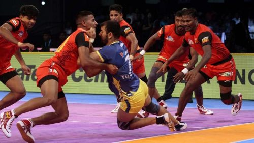 Thakur's form was one of the only bright spots in the match for the Thalaivas.