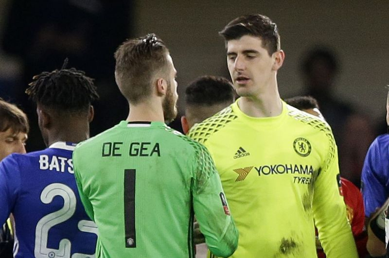 Thibaut Courtois and David De Gea