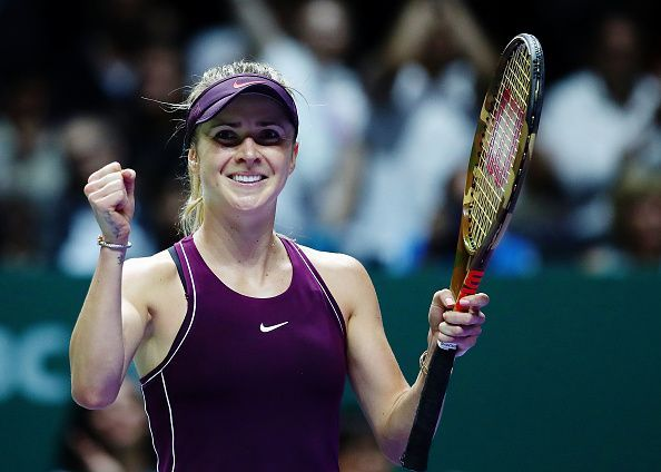 Elina Svitolina is in scintillating form in the WTA Finals