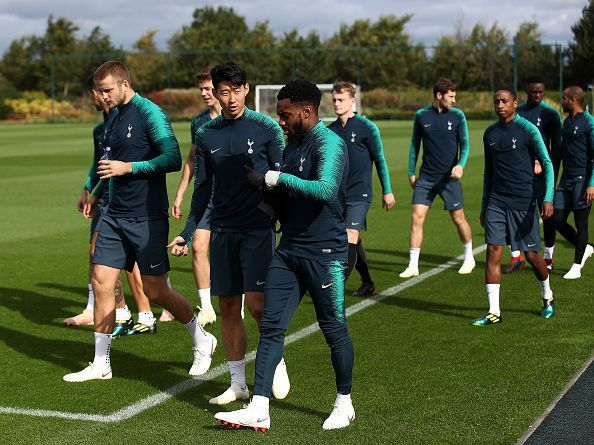 Tottenham Hotspur Training Session and Press Conference