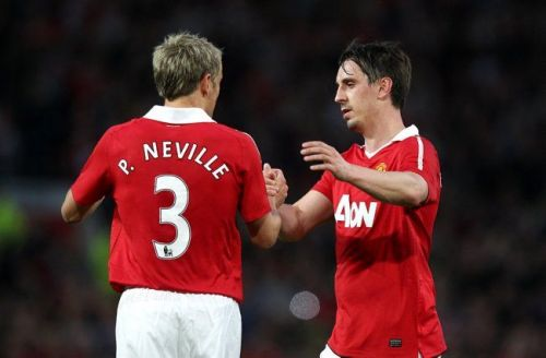 Gary and Phil Neville were part of Man United Class of '92