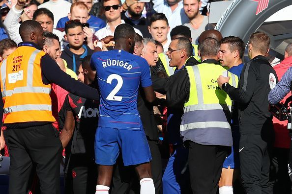 Chelsea Vs Manchester United 2 2 Four Talking Points