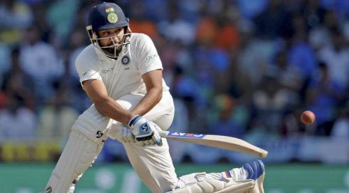 Image result for rohit sharma in test match