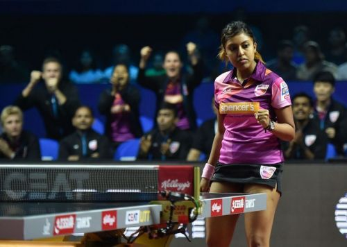 Indian table tennis player Ayhika Mukherjee settled for a silver medal after going down 1-3 to Korea's Youjin Kim in the final
