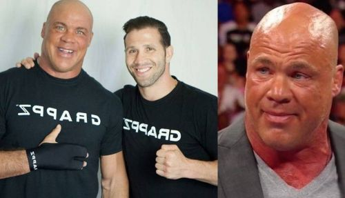 Kurt Angle could wrestle again very soon