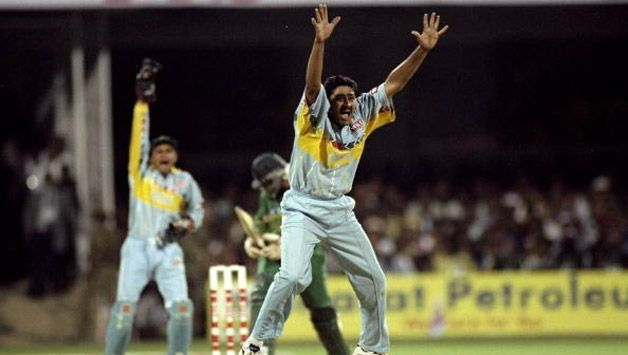 Anil Kumble is 3rd on the list with a total of 31 wickets.