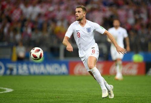 Jordan Henderson has often found himself isolated when England play better teams
