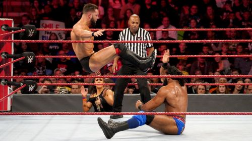 Balor and Mahal have been filling the gaps on Raw