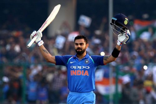 Kohli scored his third consecutive ton at Pune