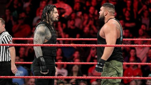 Image result for the shield vs aop and baron corbin