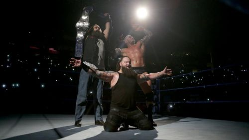 The Wyatt Family's run with the titles was brief and forgettable