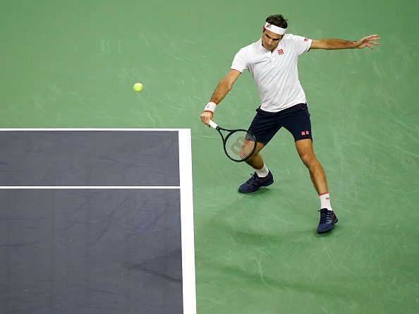 Federer was trying to punch above his weight at the Rolex Shanghai Masters semifinal clash