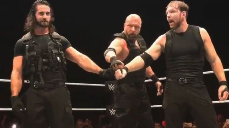 Triple H had filled in for Roman Reigns