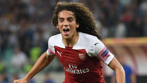 Today Guendouzi showed the other side of his skill set by scoring a goal.