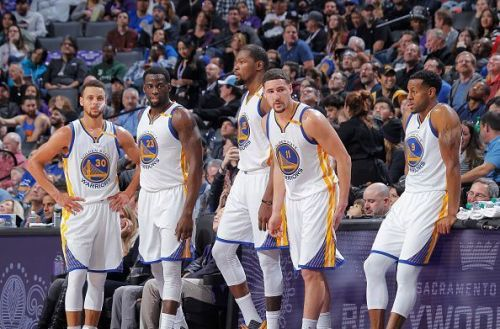 Warriors' death-lineup