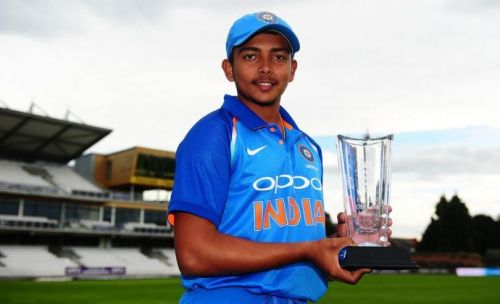 Image result for prithvi shaw